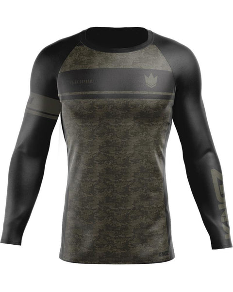 Kingz Digital Camo L/S Rash Guard