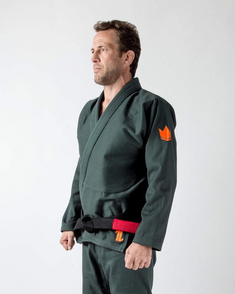 The ONE Jiu Jitsu Gi - Forest Green LIMITED EDITION- FREE White Belt