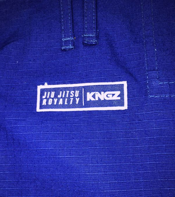 Kingz Women's Rip Stop Pants-Blue