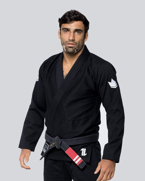 Kingz The ONE Jiu Jitsu Gi-Black (Free white belt)