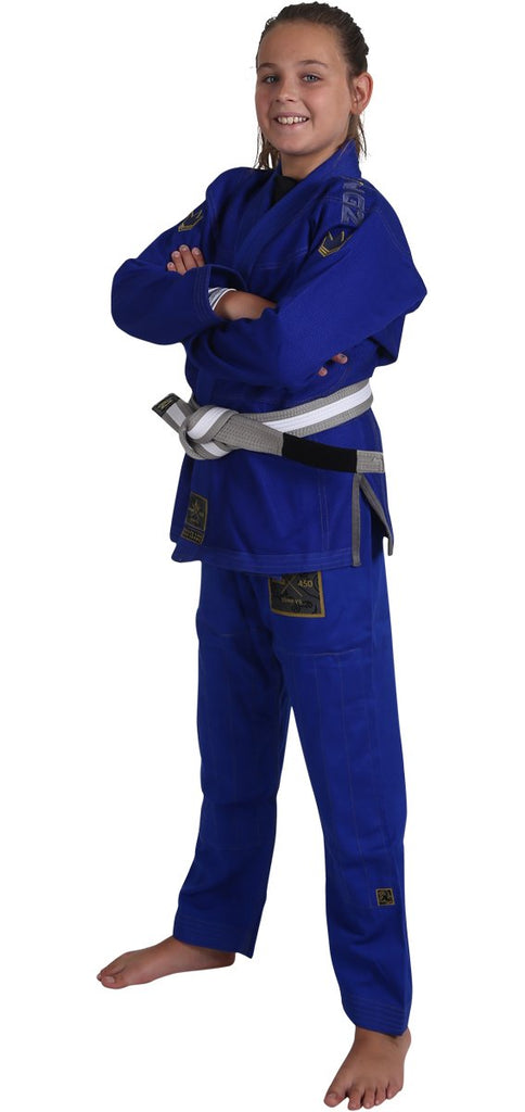 Kids Comp V5 Jiu Jitsu Gi-Blue