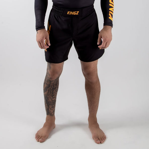 Kingz KGZ Shorts Orange Edition Forward Facing