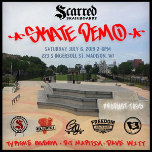 Skate Demo in Madison, Wisconsin!!!