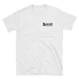 Scarred Skateboards Unisex T, Logo WF