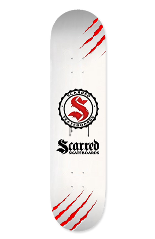 Deck, Scarred Skateboards Team