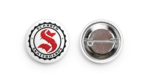 Scarred Skateboards Buttons
