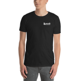 Scarred Skateboards Unisex T, Black