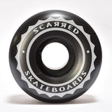 Scarred Skateboards Wheels, Black