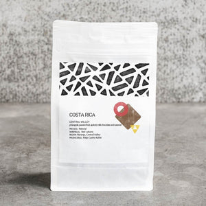 COSTA RICA espresso - CENTRAL VALLEY - pineapple, passion fruit, apricot, milk chocolate and caramel
