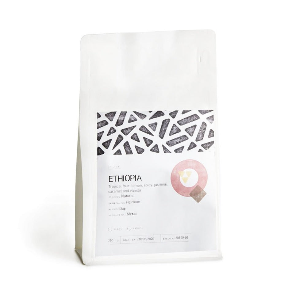 FILTER ETHIOPIA - BISHAN FUGU - Tropical fruit, lemon, spicy, jasmine, caramel and vanilla