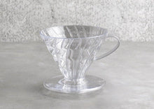 Load image into Gallery viewer, Hario V60 Plastic Dripper Size 02 Clear