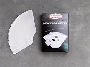 Moccamaster No. 4 filter paper white