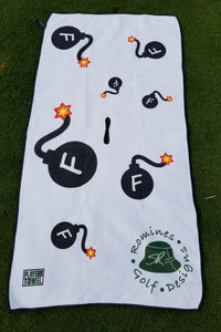 Dancing F-Bombs Tour Towel