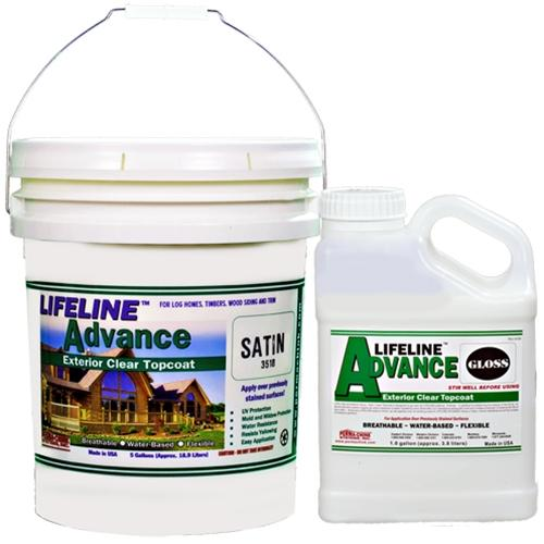 Lifeline Advance Topcoat - Log Home Center