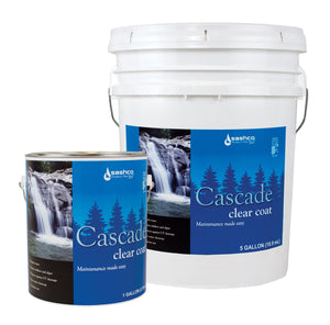 Sashco Cascade Clear Coat - Log Home Center