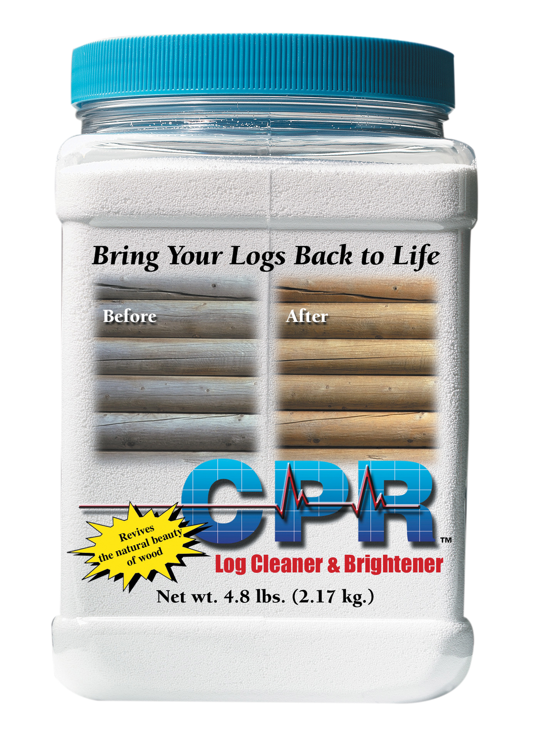 CPR Log Cleaner and Brightener - Log Home Center
