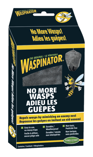 WASPINATOR Repels Wasps and Carpenter Bees - Log Home Center