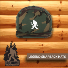 Load image into Gallery viewer, Legend SnapBack Hats - Log Home Center