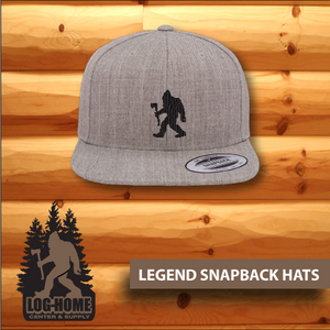 Legend SnapBack Hats - Log Home Center