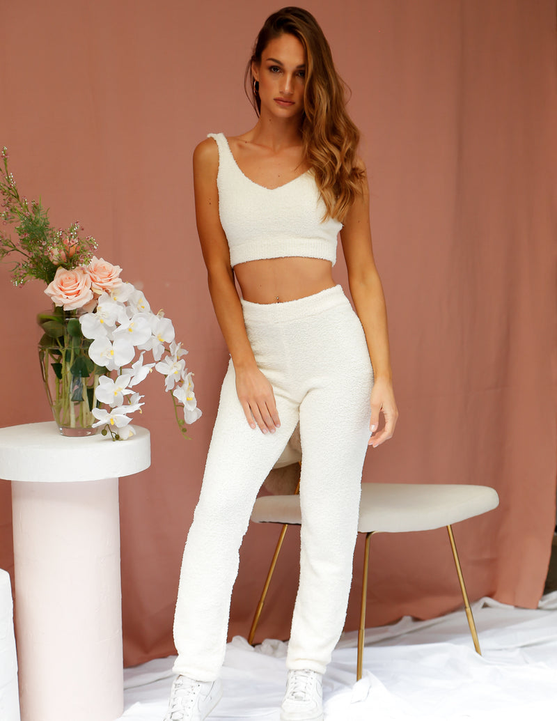 Phoenix Two Piece Lounge Set Cream