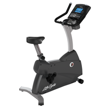 Load image into Gallery viewer, Life Fitness C3 Upright Bike With Go Console