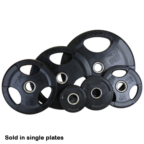 Rubber Grip Plate 45 Lbs. (Buy now, available 8/10/2020)