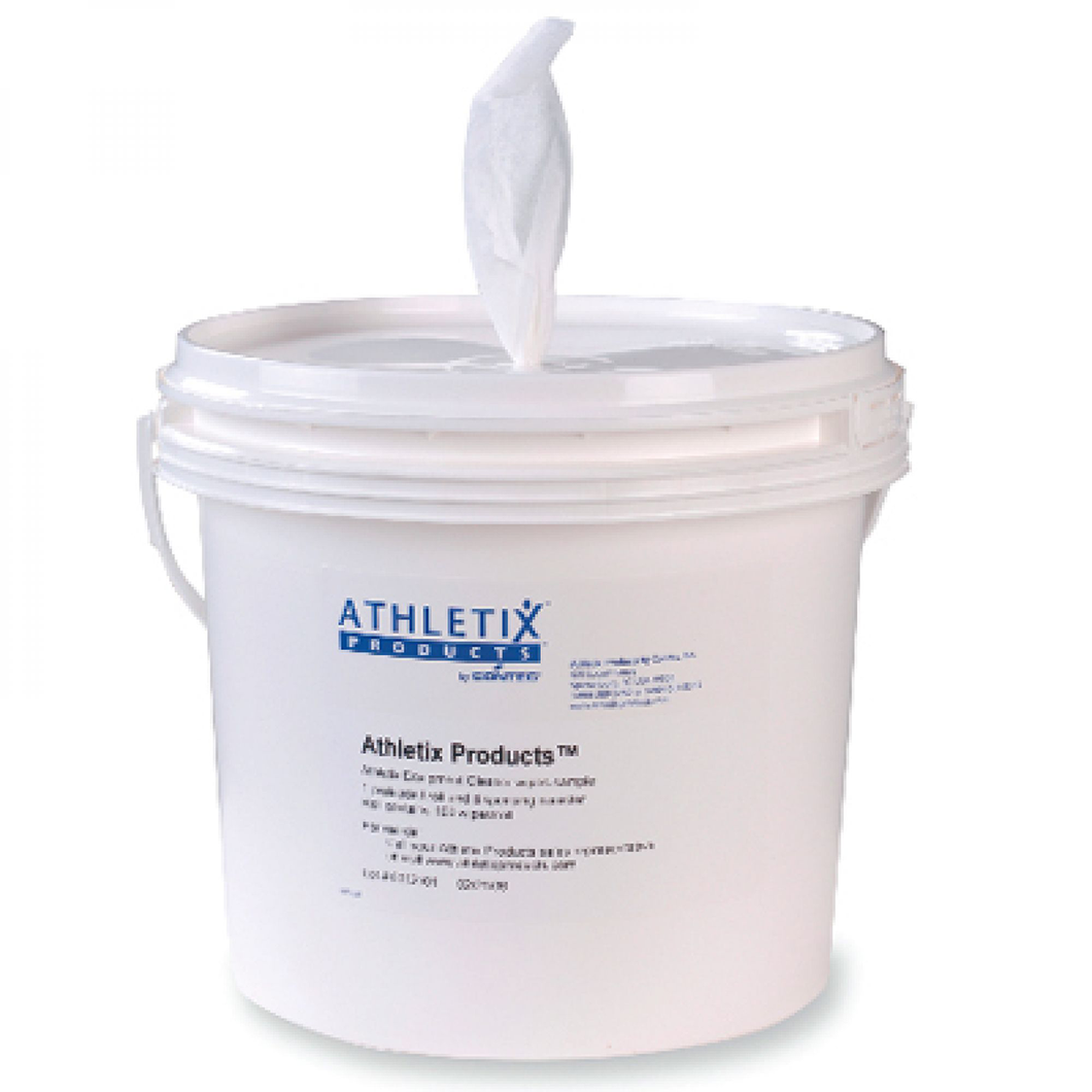 Athletix™ Plastic Floor Bucket Wipe Dispenser with Lid (wipes not included)