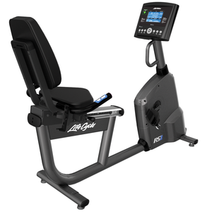 Life Fitness RS1 Recumbent Bike With Go Console