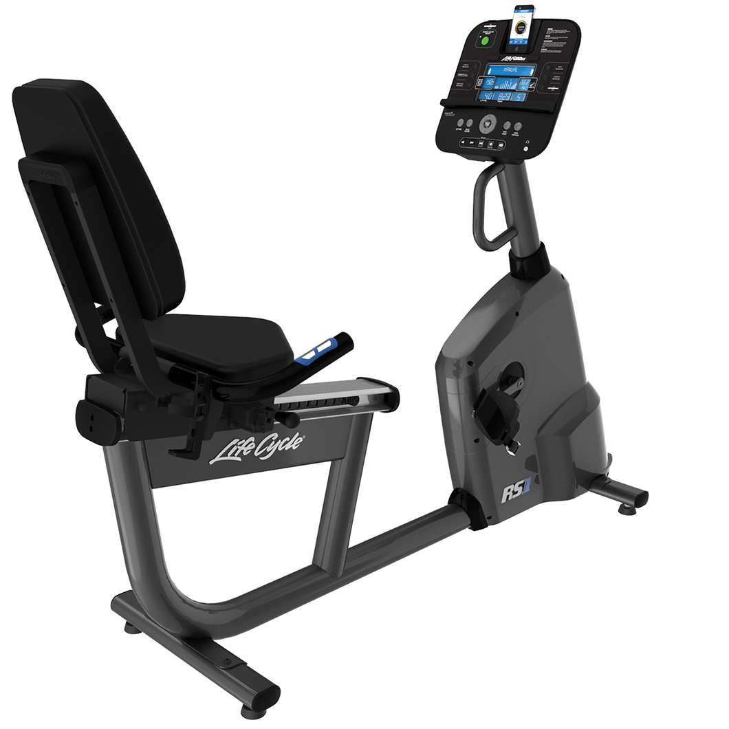 Life Fitness RS1 Recumbent Bike With Track Connect Console
