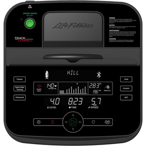 Life Fitness E3 Elliptical Cross-Trainer With Track Connect Console