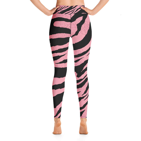 Zebra Print Yoga-Leggings