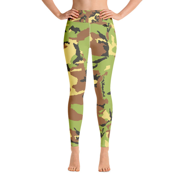 Camo Yoga-Leggings