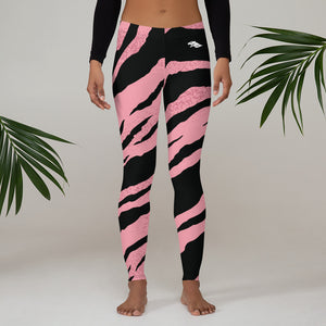 Zebra Print Leggings
