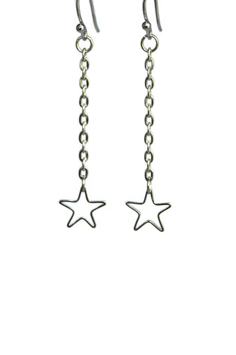 Falling Star Dangle Earrings