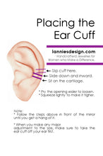 Load image into Gallery viewer, How to Wear an Ear Cuff