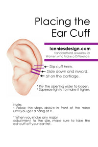 How to Wear Ear Cuff