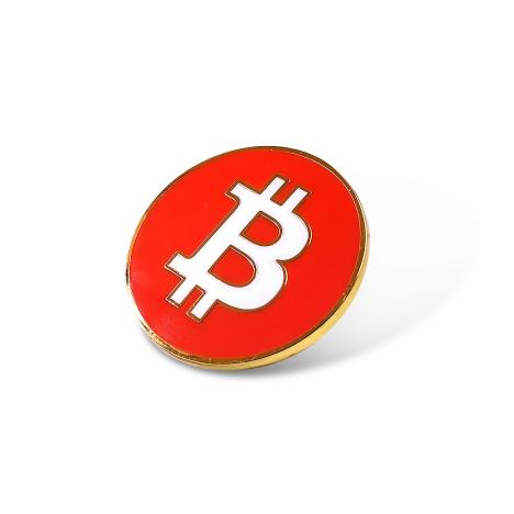Bitcoin / Cryptocurrency Enamel Pin