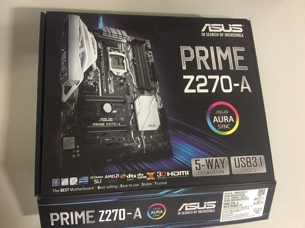*USED* ASUS PRIME Z270-A Motherboard