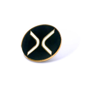 Ripple / XRP / Cryptocurrency Enamel Pin