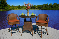 SEA PINES BAR SET-JAVA WICKER