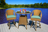 SEA PINES BAR SET-MOJAVE WICKER