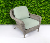 SEA PINES CLUB CHAIRS-DRIFTWOOD WICKER