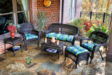 PORTSIDE 6 PIECE SEATING SETS – DARK ROAST