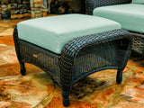 SEA PINES OTTOMANS-TORTOISE WICKER
