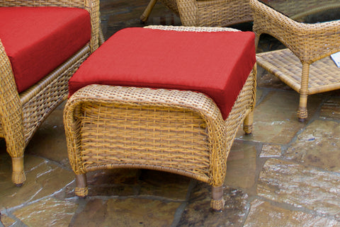 SEA PINES OTTOMANS-MOJAVE WICKER