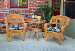PORTSIDE 3 PIECE BISTRO SETS- SOUTHWEST AMBER