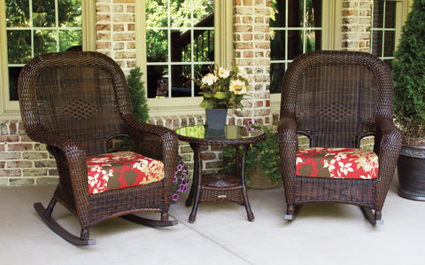 SEA PINES ROCKER SETS-JAVA WICKER