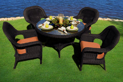 SEA PINES DINING SETS-TORTOISE WICKER