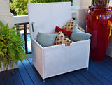SEA PINES MEDIUM STORAGE BOXES-WHITE
