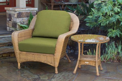 SEA PINES CLUB CHAIR AND SIDE TABLE BUNDLES